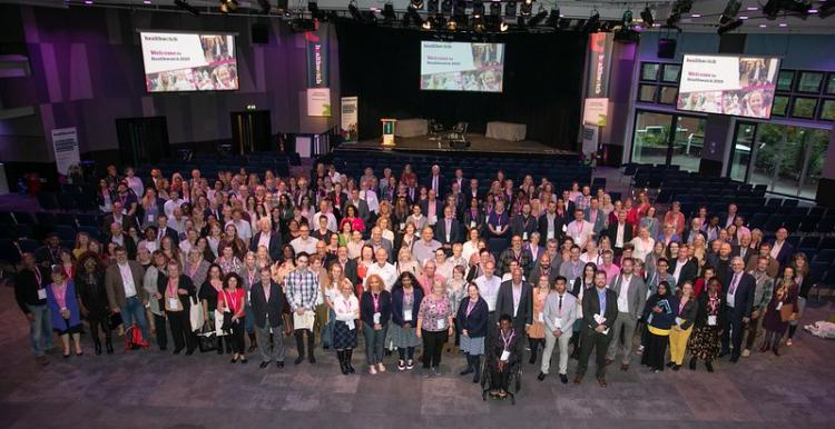 Group photo of delegates from conference