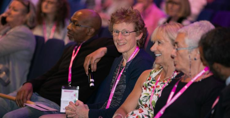 Healthwatch 2019 conference audience